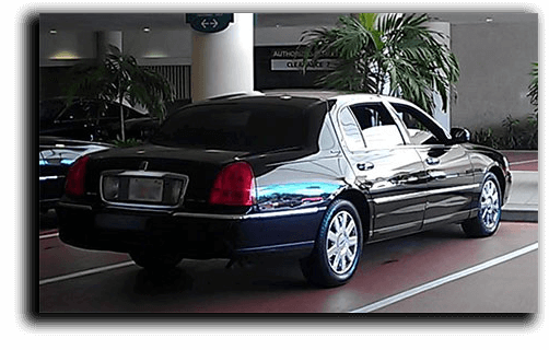 Lincoln Town car shadow